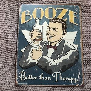 Other - Old fashioned Tin sign